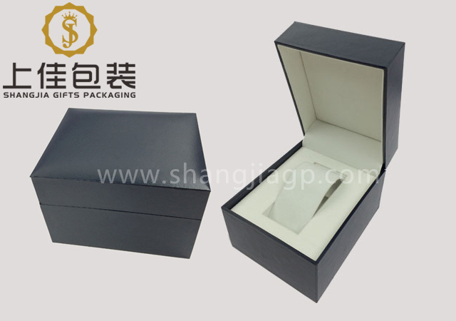 Plastic watch box